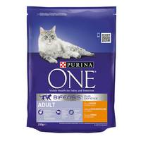 Purina One Adult Cat Chicken & Whole Grains 200g