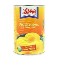 Libby (ليبيز) أنصاف خوخ في شراب كثيف 420 غم