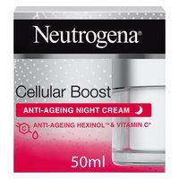 Neutrogena face cream cellular boost anti ageing night cream 50 ml