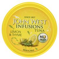 John West Infusions Tuna lemon & Thyme 80g
