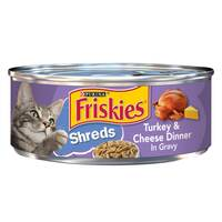 Purina Friskies Shreds Turkey And Cheese Dinner in Gravy 156g