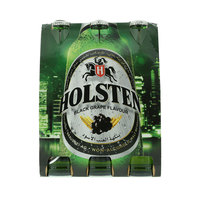Holsten Black Grape flavor Malt Beverage 330ml x Pack of 6