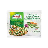 Al Wadi Al Akhdar 5 Vegetbale Mix Frozen 800GR