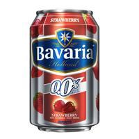Bavaria Holland Strawberry Non Alcoholic Malt Drink Can 330ml